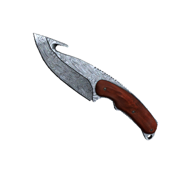 Gut Knife Damascus Steel
