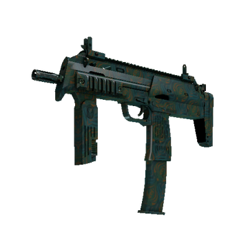 MP7 Teal Blossom