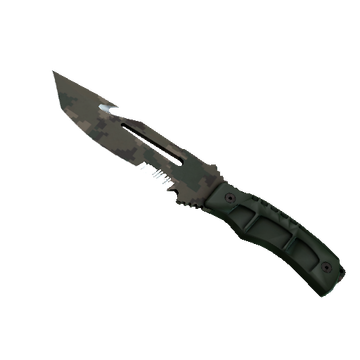 Survival Knife Forest DDPAT